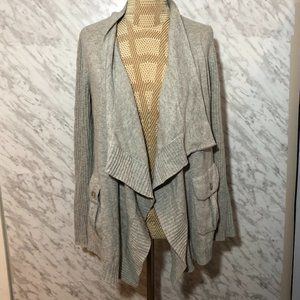 Autumn Cashmere Cardigan Grey Size Small